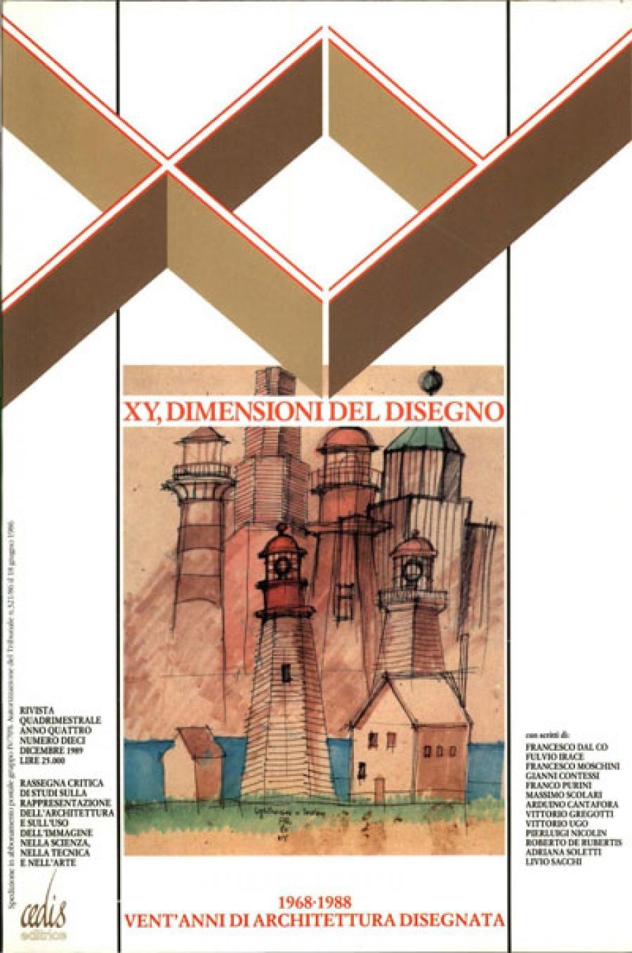 Numero 10 xy digitale for Architettura disegnata